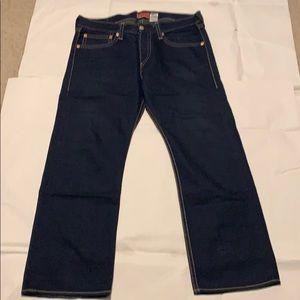 Levi's  Iconic Straight Men's W38 L30 Blue